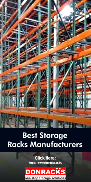A Series of Storage Racks Arranged In An Warehouse For Their Storage Purpose.